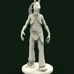 frente.jpg Télécharger fichier STL JarJar Binks • Modèle pour imprimante 3D, brhuw