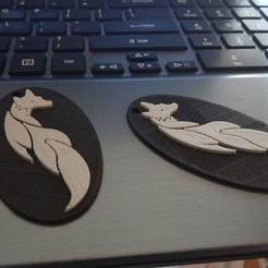 IMG_20180817_125537.jpg Download free STL file Fox keychain • 3D printing object, kamilrapior