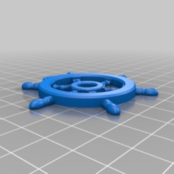 3e70173446f06d6ba00c28231fe98bf7.png Download free STL file Steering-Wheel keychain • 3D print object, kamilrapior