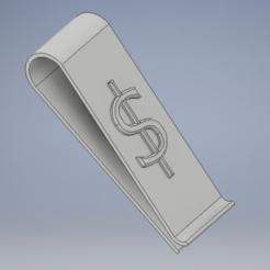 dollar_clip.PNG Download free STL file Dollar clip • 3D printing model, kamilrapior