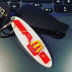85234375_3473175746090029_8162919511683497984_o.jpg Télécharger fichier STL gratuit Porte-clés AMG de McDonald's • Objet à imprimer en 3D, kamilrapior