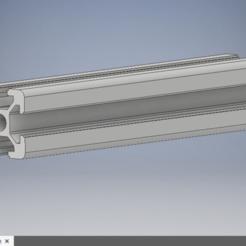 2020T6.PNG Download free STL file customizable 2020 T6 profile • 3D printer model, kamilrapior