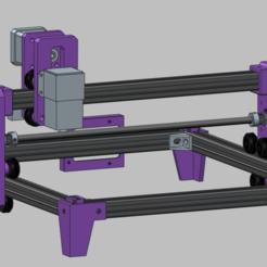 Przechwytywanie.PNG Download free STL file 2020 customizable GRBL laser • 3D print model, kamilrapior