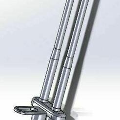 assemblage.JPG Télécharger fichier STL Snag Bar • Objet imprimable en 3D, crankset