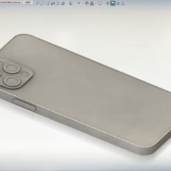 03.PNG Download STL file iPhone 12 PRO basic 3D printable model • 3D printer design, 777workshop