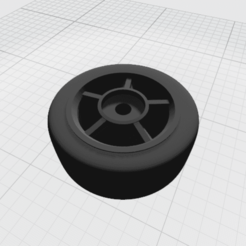 R02.png Télécharger fichier STL gratuit Jante à 5 rayons pour modèle réduit de voiture • Modèle à imprimer en 3D, erik-torres