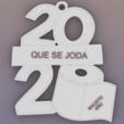 qsj2020.png Download free STL file Fuck 2020 • 3D printer model, Anonymous3Dnumerati