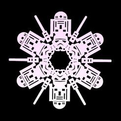 estrellas1.jpg Download STL file Star Wars • 3D print object, Anonymous3Dnumerati