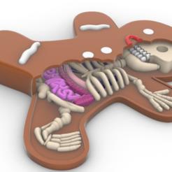 Screenshot_2.png Download STL file gingerbread man bone • 3D printer design, Anonymous3Dnumerati