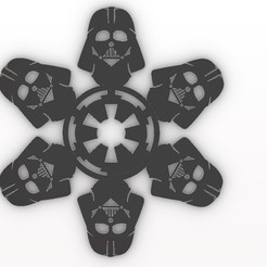 vader.jpg Download STL file Star Wars Ornaments • 3D printable object, Anonymous3Dnumerati