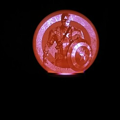 IMG_20201225_101331.jpg Télécharger fichier STL captain america lithophane • Objet imprimable en 3D, alexgundru
