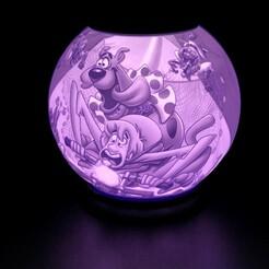 img_5661.jpg Télécharger fichier STL Scooby Doo Lithophane • Objet pour imprimante 3D, alexgundru