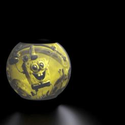 untitled.png Télécharger fichier STL Lithophane de Bob l'éponge • Modèle pour impression 3D, alexgundru