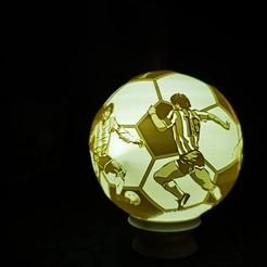 IMG_20201201_215746.jpg Download STL file Maradona lithophane lamp • 3D printer model, alexgundru