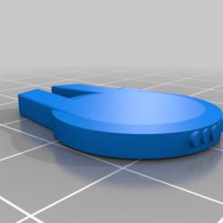 b702f20072fbe0c90d25ce24e8ce3023.png Télécharger fichier STL gratuit Modèle de faucon du millénaire • Modèle à imprimer en 3D, Sumerlin_Designing
