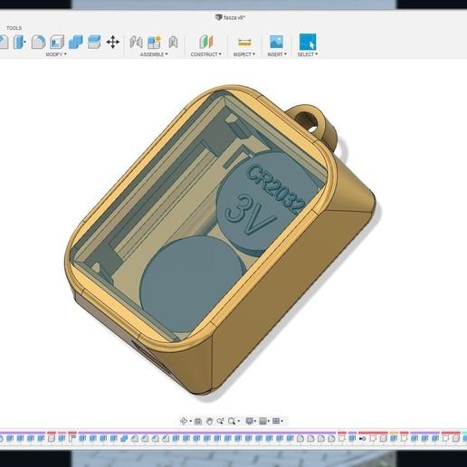 key3.jpg Télécharger fichier STL Litokey ( Porte-clés ) • Design à imprimer en 3D, Bandy88