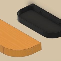 p1.jpg Download STL file secret shelf, shelf,Wall shelf • 3D print model, Bandy88