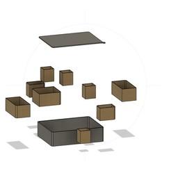 bandicam 2020-10-20 16-43-16-524.jpg Download STL file sorting box • 3D print object, Bandy88
