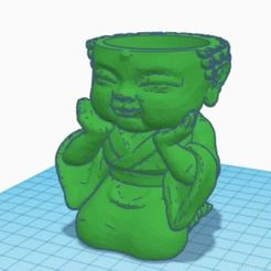 budabebemaceta1.JPG Télécharger fichier STL Planteur Babby BUDA • Design à imprimer en 3D, auramedina
