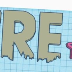 free_fire.JPG Download STL file free fire cookie cutter • 3D printable template, auramedina