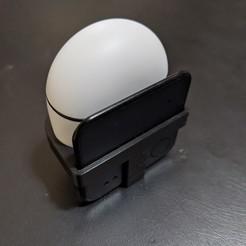 PXL_20201014_231830018.jpg Télécharger fichier STL gratuit L'affaire Cube Shadow pour Pixel Buds • Objet pour impression 3D, kylec1107