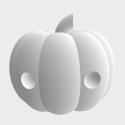 Pumpkin Pete png.png Download STL file Pumpkin Pete • 3D print template, Leilani