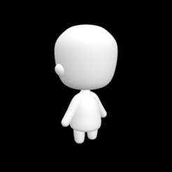 Unsaved_Preview_Document.png Download free STL file Chibi Base • 3D print template, Leilani