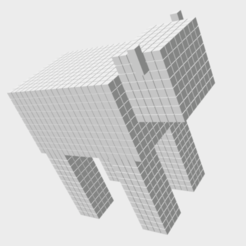 Cow Png.png Télécharger fichier STL Vache de Minecraft • Plan pour imprimante 3D, Leilani