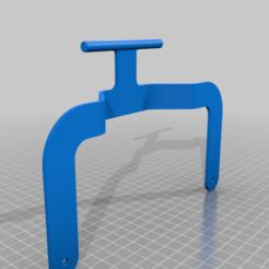 Ender_3_Pro_bed_handle_ByFafa.png Download free STL file Ender 3 Pro Bed Handle • 3D printable template, FafaElRey