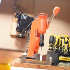 dumb.PNG Télécharger fichier STL gratuit Presse à percer imprimée en 3D et entraînée par courroie (WIP) • Objet imprimable en 3D, borgecmedia
