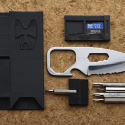 PNG_smaller.png Download free STL file Credit card multitool V2 • 3D printer design, borgecmedia