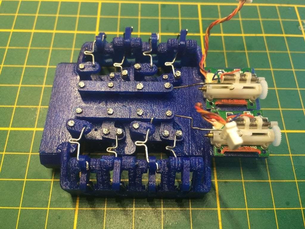 IMG_1313.JPG Download free STL file 8 legged spider robot • 3D print design, brianbrocken