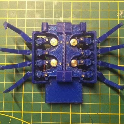 IMG_1319.JPG Download free STL file 8 legged spider robot • 3D print design, brianbrocken