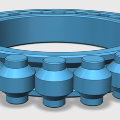 bearing_cross_section_1.PNG Download STL file best 3D-printable bearing • 3D printing design, brianbrocken