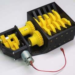 IMG_0032_low_ress.jpg Download STL file 3D-printable shredder • 3D printer design, brianbrocken