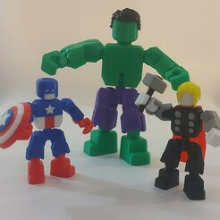 20201215_161754.jpg Download free STL file Avengers mini figures • 3D printing object, Doctor_Operator
