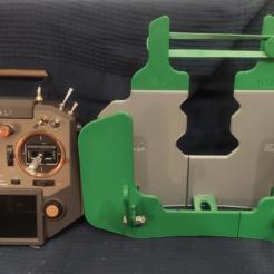 horus foto 1.PNG Download STL file Transmitter Tray Horus X10 • 3D printing design, xib
