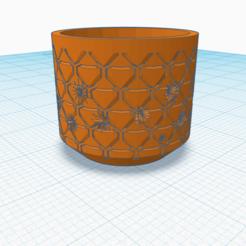 Backyard.png Download STL file Backyard- Planter with drain hole  • 3D printer design, rachelauradesign