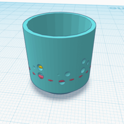 Upstream (2).png Download STL file Upstream- Planter with drain hole • 3D printing model, rachelauradesign