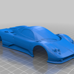 ZONDA.PNG Download STL file ZONDA PAGANI FOR MINI-Z • 3D print object, studio3dimensiones