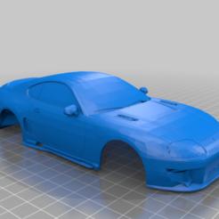SUPRA.PNG Download STL file TOYOTA SUPRA MINI Z 98MM • 3D printer model, studio3dimensiones