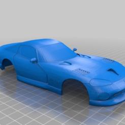 VIPPER.PNG Download STL file DODGE VIPER MINI-Z BODY • Object to 3D print, studio3dimensiones
