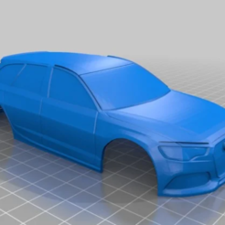 RS6.PNG Download STL file AUDI RS6 AVANT 94MM SCALE 1:28 MINI Z • Object to 3D print, studio3dx