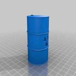baril_nucleaire.png Télécharger fichier STL gratuit Tonneau nucléaire • Plan pour imprimante 3D, Theiremi