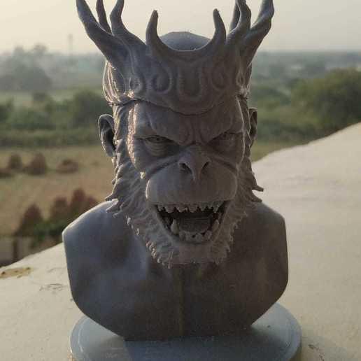 Download STL file Monkey King - incense burner • 3D printable design, 3dPrint_Satvik