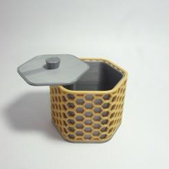 1.jpg Télécharger fichier STL Caja Hex_Modulaire • Design pour imprimante 3D, ceguamnr