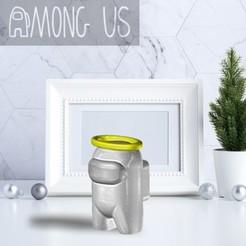 AU-HALO.jpg Download STL file AMONG US - HALO • 3D printer template, OsvaldoFilho