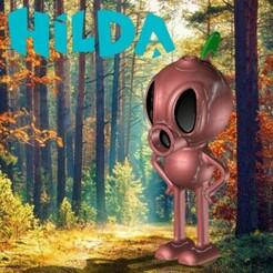 TREEMAN.jpg Download STL file HILDA - WOOD GUY • 3D printable template, OsvaldoFilho