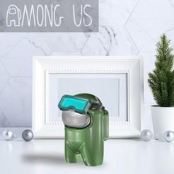 AU-GLASSES.jpg Download STL file AMONG US - GLASSES • Design to 3D print, OsvaldoFilho