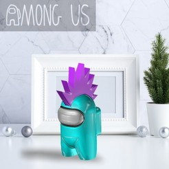 AU-MOHAWK.jpg Télécharger fichier STL PARMI NOUS - MOHAWK • Modèle imprimable en 3D, OsvaldoFilho